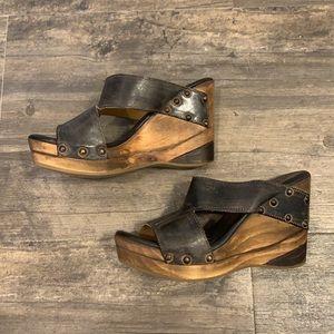 Bed Stu Cobbler Series Olea sandals never worn